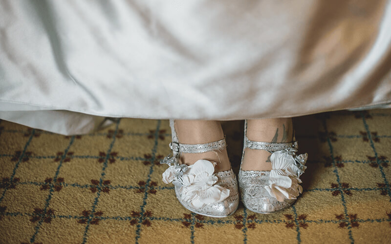 Go Head Over Heels for these Breath-Taking Bridal Shoes