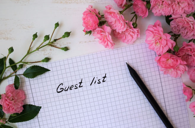 How to Prepare the Perfect Guest List for Your Wedding