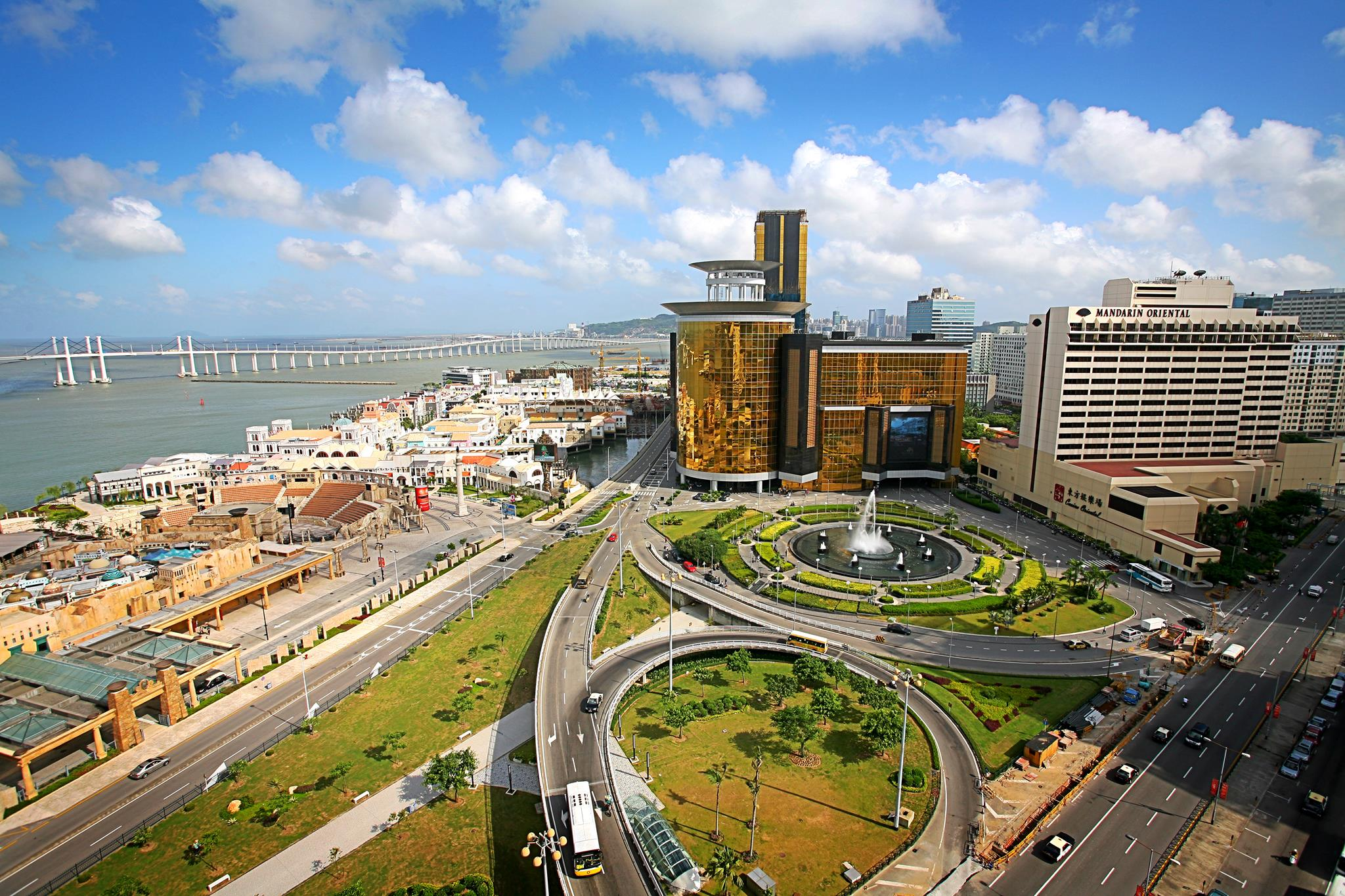 The Sands Macau is another of our suggested casino resorts which may make a good wedding destination.